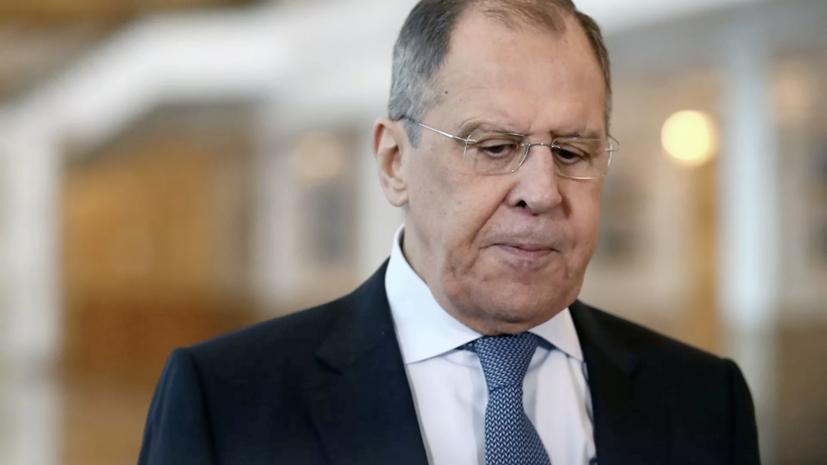Лавров прокомментировал реакцию НАТО и ЕС на выход России из ДОН