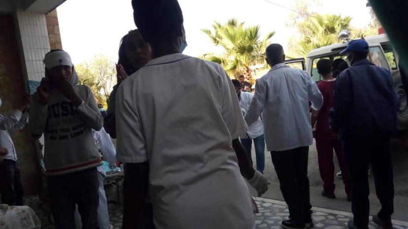 AFP: в результате авиаудара в эфиопском Тыграе погибли 64 человека