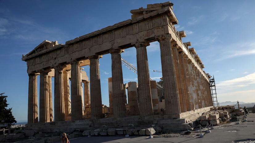 В Греции за сутки выявили 489 новых случаев коронавируса