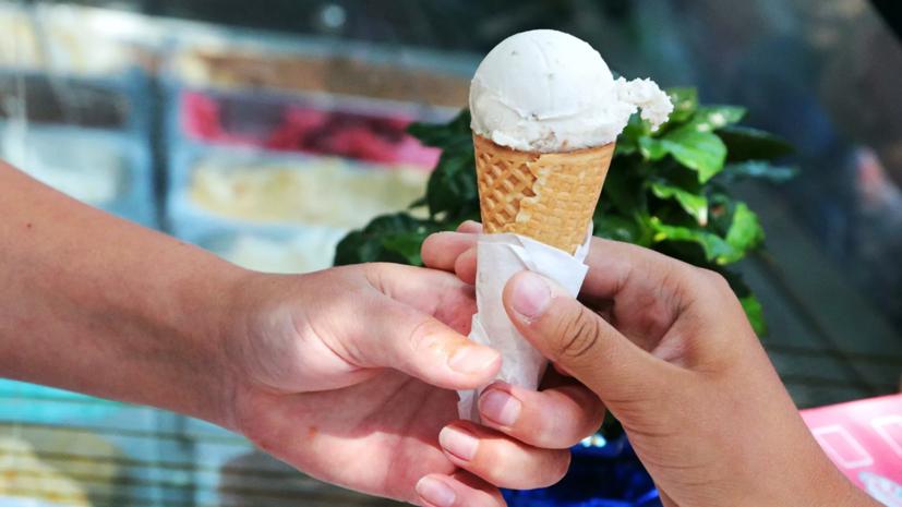 Продажи мороженого в Москве выросли в полтора раза на фоне жаркой погоды