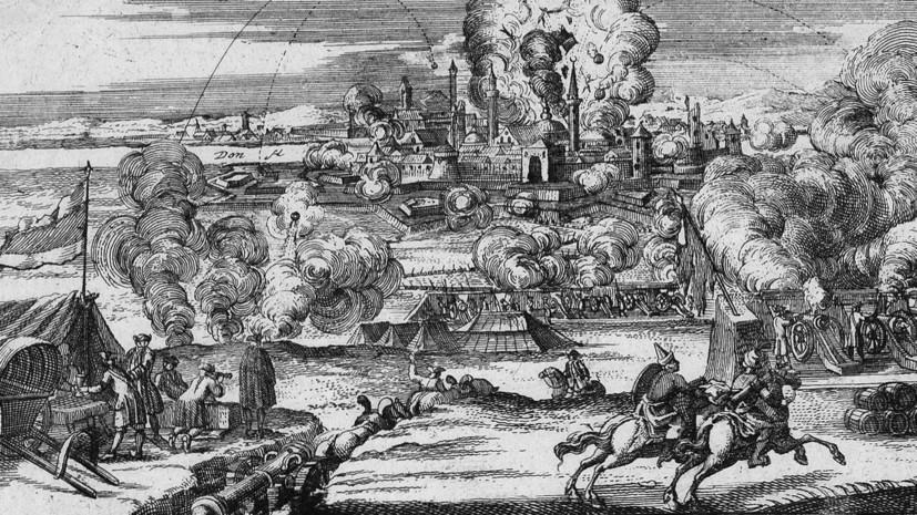 «Занимал стратегическое положение»: как осада Азова изменила историю Северного Причерноморья