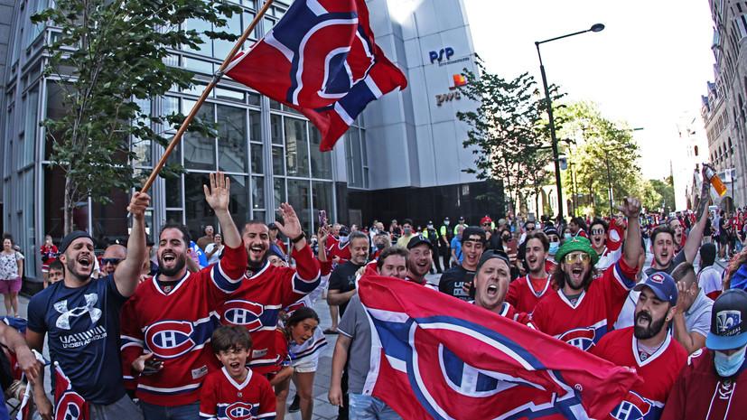Фанаты «Монреаля» устроили беспорядки, празднуя выход команды в финал Кубка Стэнли