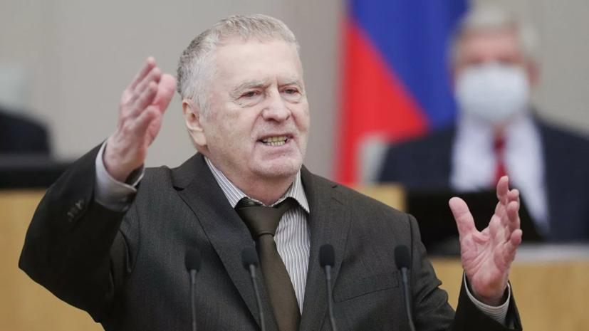 Жириновский возглавил список ЛДПР на выборах в Госдуму
