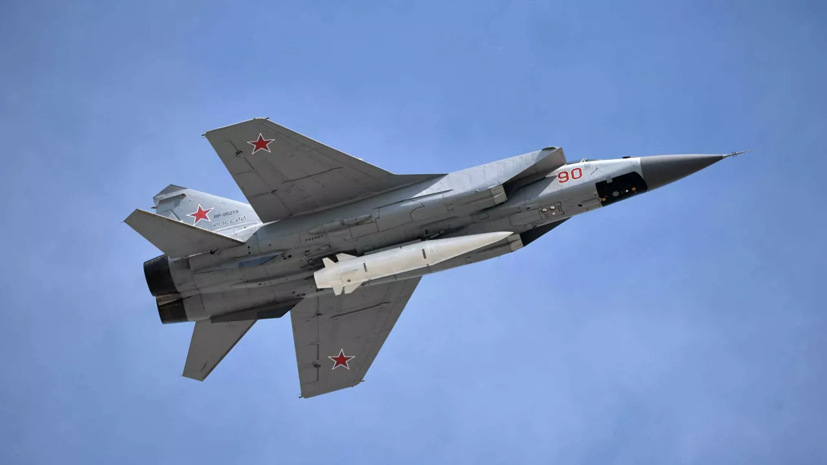 Россия проводит учения с МиГ-31К в Средиземном море