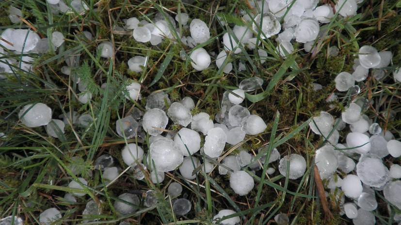 Синоптики предупредили о граде и усилении ветра до 23 м/с в Татарстане