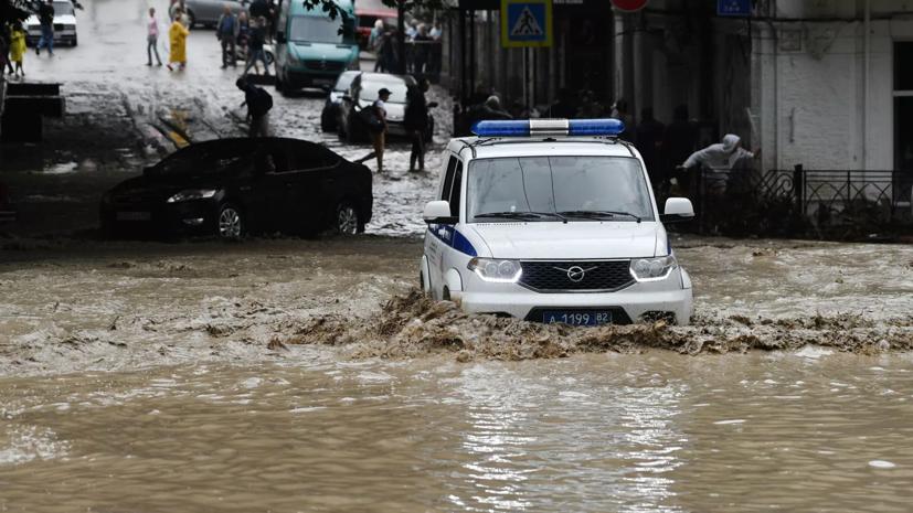 Ущерб от наводнения в Крыму оценили в 201 млн рублей