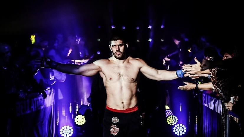 Молдавский прокомментировал победу над Джонсоном и становление временным чемпионом Bellator