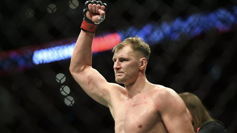 Волков поделился ожиданиями от боя с Ганом на турнире UFC Vegas 30