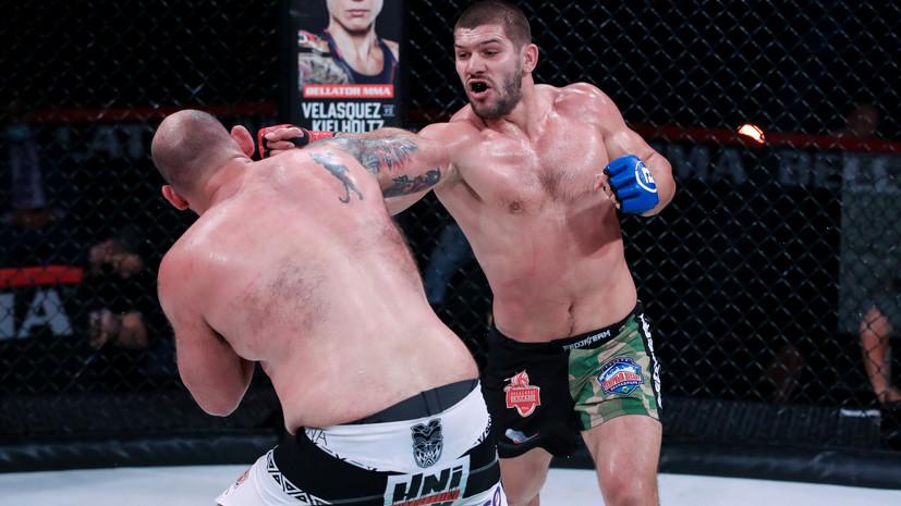 Заявка на абсолютный титул: что означает для Молдавского завоевание пояса временного чемпиона Bellator в тяжёлом весе