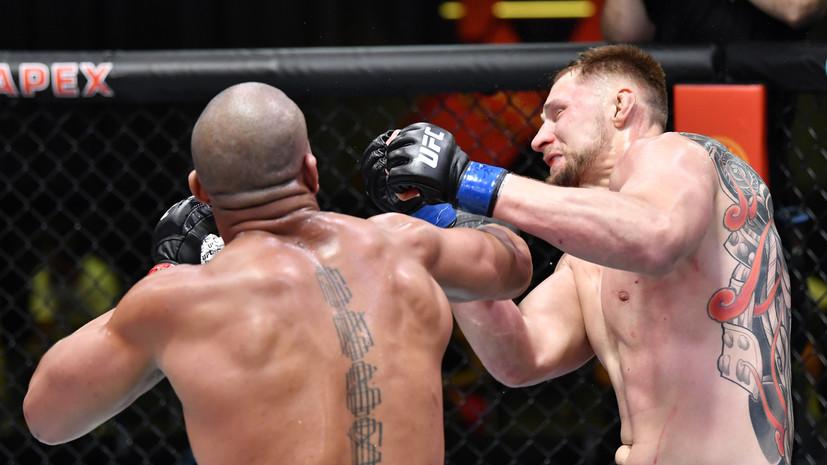 Девятое поражение в карьере: как Волков проиграл Гану на UFC Vegas 30