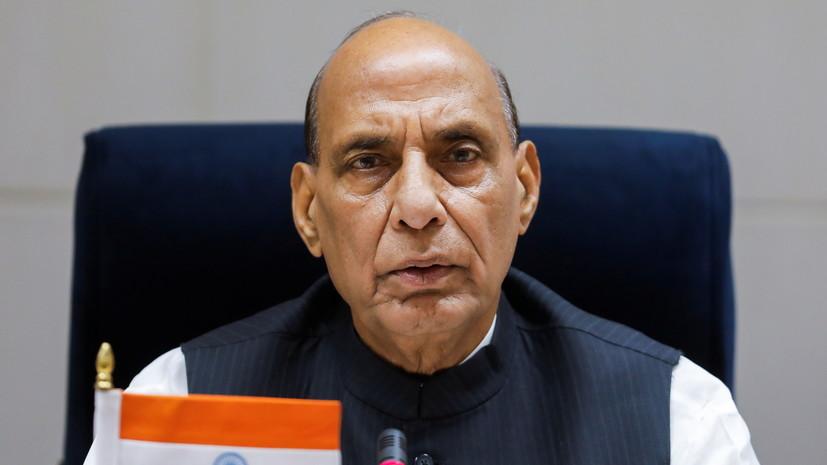 Министр обороны Индии выехал в пограничный с КНР регион