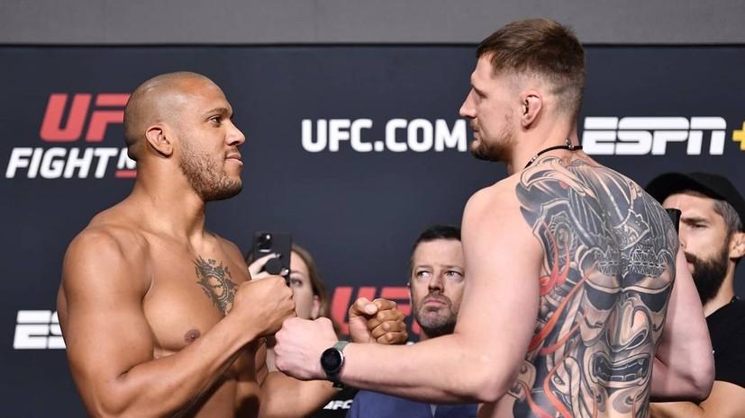 Волков прокомментировал поражение от Гана на UFC Vegas 30