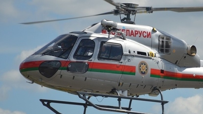 В Белоруссии совершил аварийную посадку вертолёт МЧС