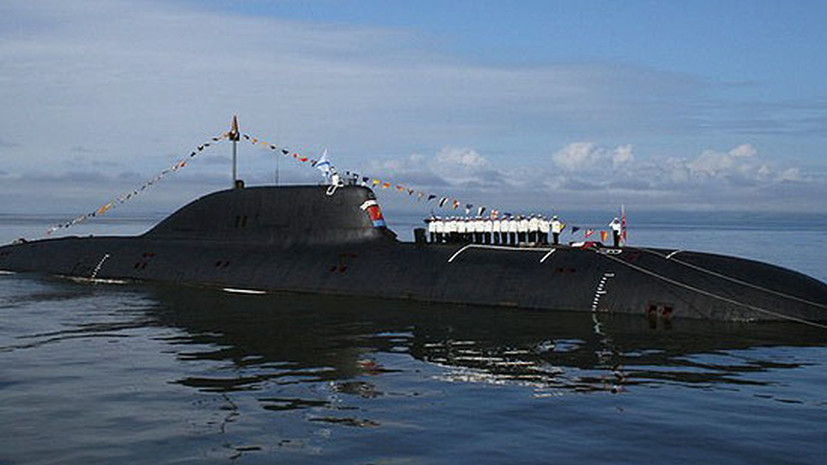 Новая подлодка «Магадан» вышла на ходовые испытания