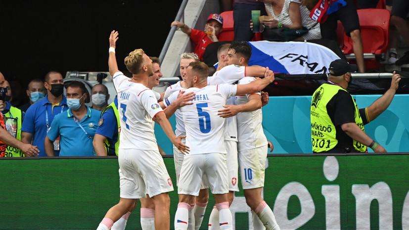 Чехия победила Нидерланды и вышла в 1/4 финала Евро-2020
