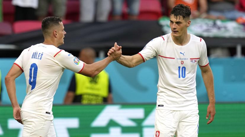 Шик отличился во всех матчах Евро-2020, в которых Чехия забивала