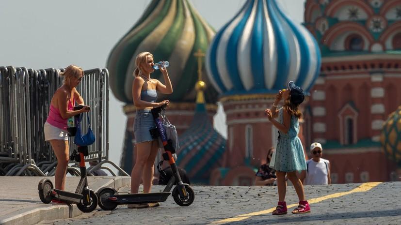 В Москве продлили «оранжевый» уровень погодной опасности
