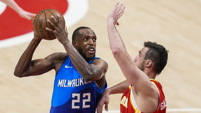 «Милуоки» победил «Атланту» и сравнял счёт в серии плей-офф НБА