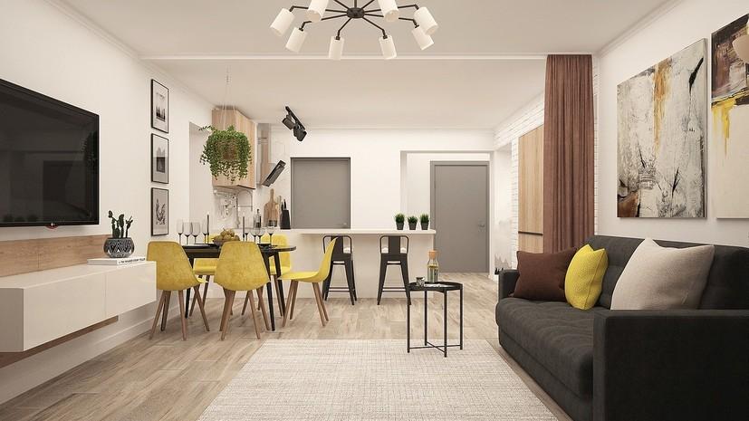 Спрос на квартиры-студии в России увеличился на 43% в мае