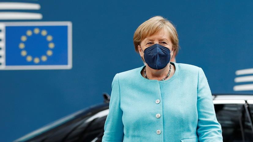 Меркель призвала ЕС к прямому диалогу с Путиным