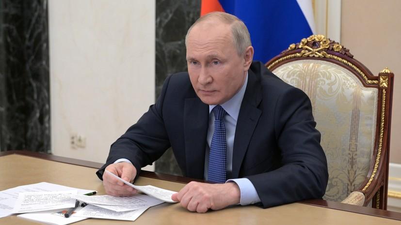Путин рассказал о системе С-500 и ракетах «Сармат» и «Циркон»