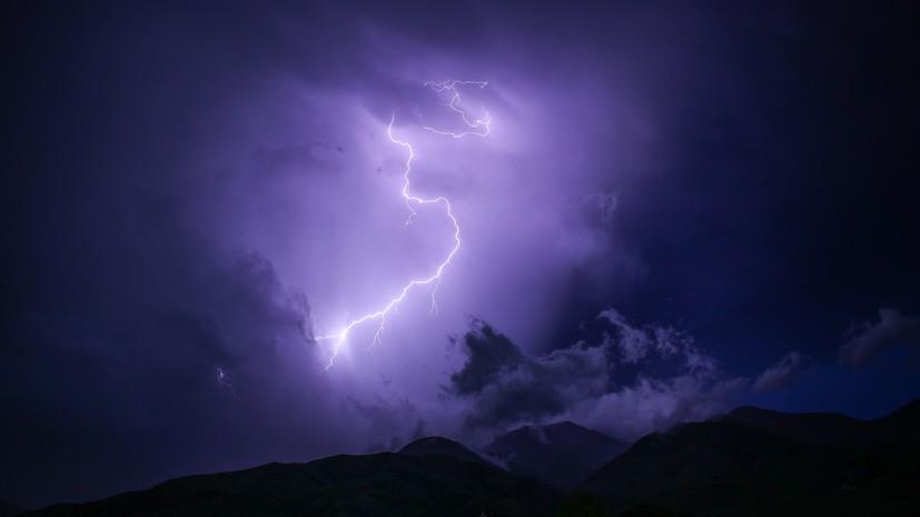Синоптики прогнозируют дожди и грозы в ХМАО