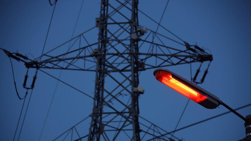 Несколько округов Подмосковья остались без электричества после грозы