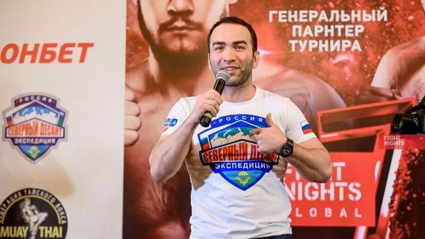 Глава AMC Fight Nights Global оценил возможность проведения боя Шлеменко и Моргенштерна