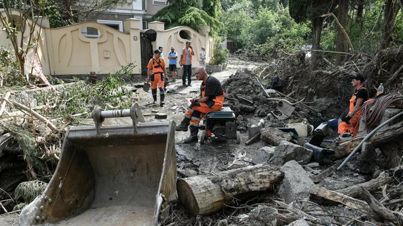 Нанесённый Ялте ущерб после подтоплений превысил 7 млрд рублей