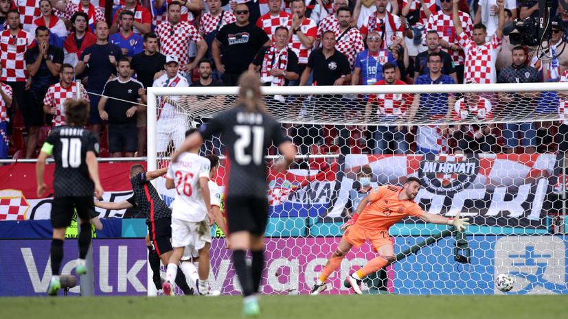 Испания в дополнительное время обыграла Хорватию и вышла в четвертьфинал Евро-2020