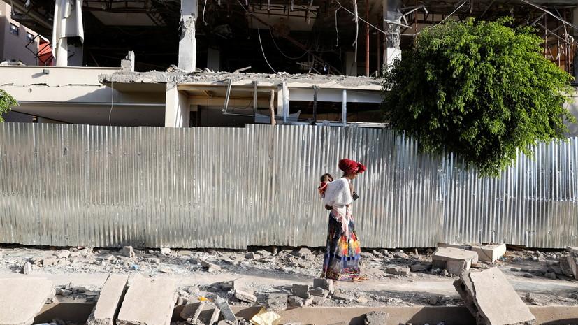 AFP: в Эфиопии мятежники захватили административный центр Тыграя