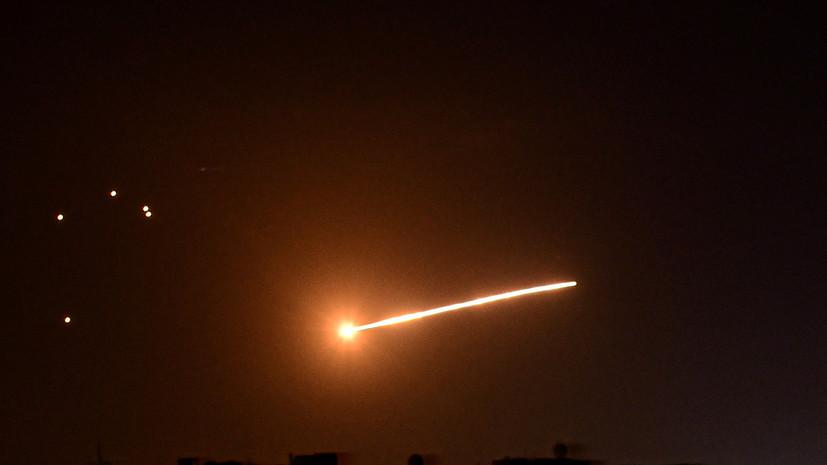 SANA: в Сирии обстреляли американскую военную базу