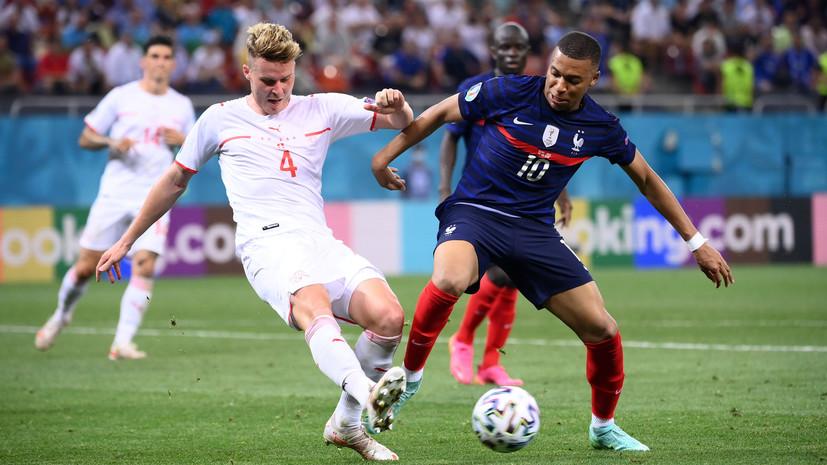 Линекер восхитился игрой Швейцарии в матче 1/8 финала с Францией