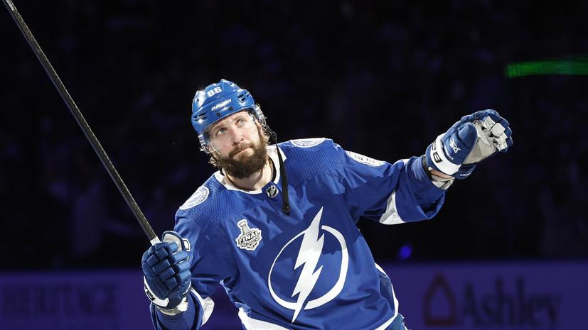 Кучеров вышел на пятое место среди россиян по голам в плей-офф НХЛ
