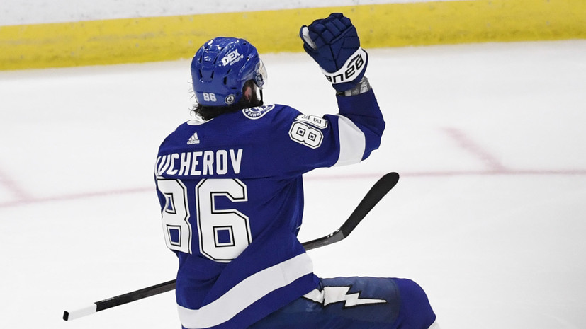 Кучеров повторил достижение Гилмора, Гретцки и Малкина в плей-офф НХЛ