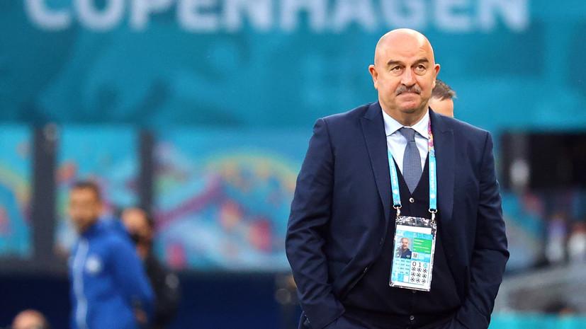 Арустамян оценил вероятность ухода Черчесова с поста главного тренера сборной России
