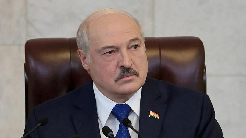 Лукашенко обсудил сотрудничество в сфере обороны с секретарём Совбеза России