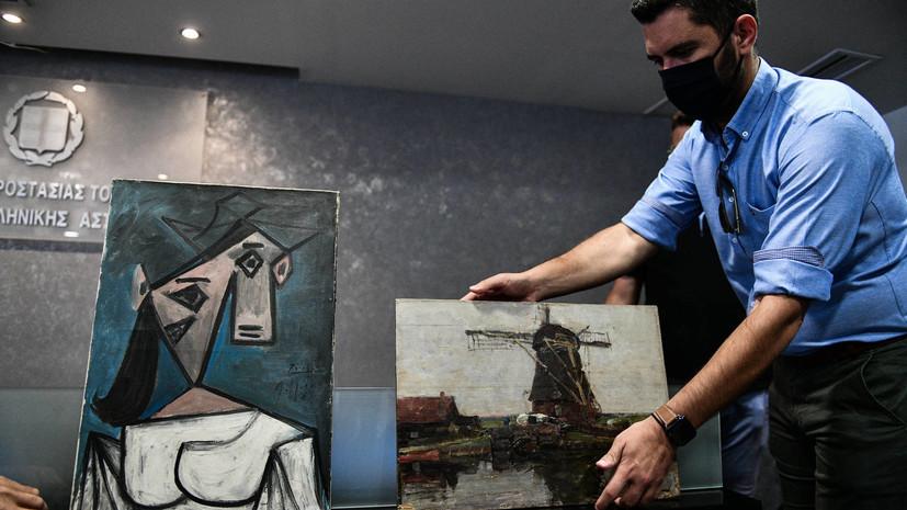 «День великой радости»: в Греции нашли украденные картины Пикассо и Мондриана