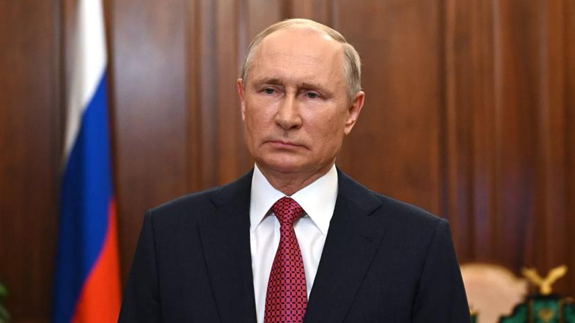 Путин проведёт встречу с Назарбаевым в Москве