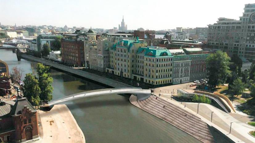 В Москве утвердили проект пешеходного моста через Водоотводный канал