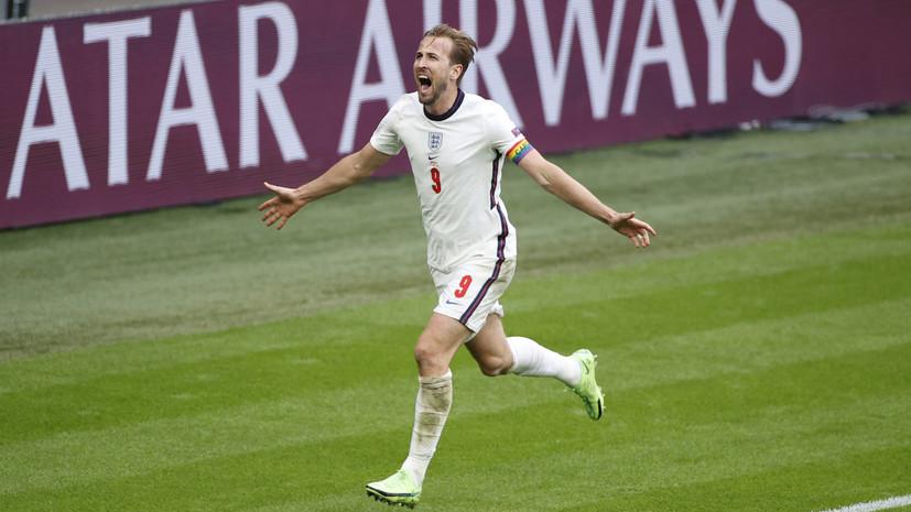 Кейн сравнялся с Руни по голам за Англию на Евро и ЧМ