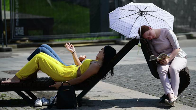 Климатолог прокомментировал жару в Москве