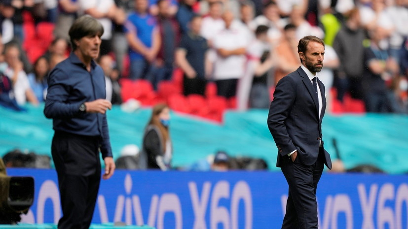 Саутгейт заявил, что Англия заслужила победу над Германией