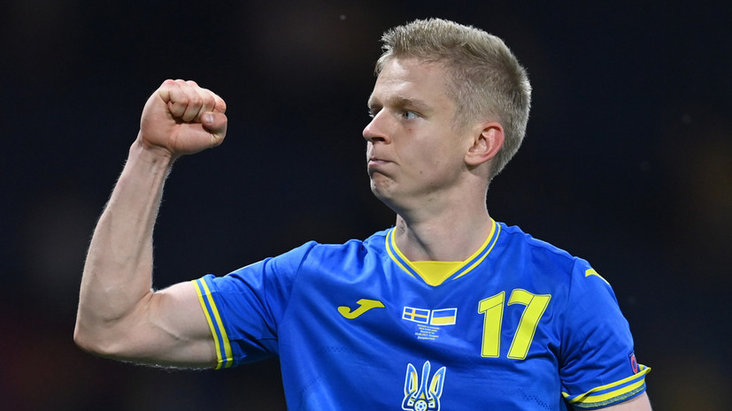 Зинченко признан лучшим футболистом матча Швеция — Украина