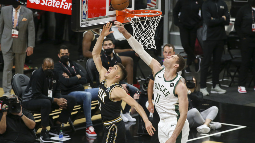 «Атланта» победила «Милуоки» и сравняла счёт серии плей-офф НБА