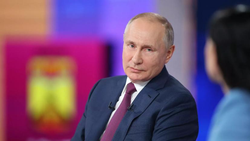 Путин обеспокоен военным освоением Украины странами НАТО