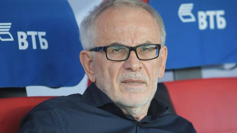 Гаджиев ответил по поводу возможной отставки Черчесова с поста главного тренера сборной России