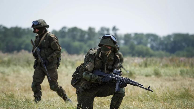 Военнослужащие ЦВО провели учения в Новосибирской области