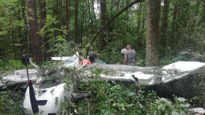 Прокуратура начала проверку из-за жёсткой посадки самолёта в Подмосковье