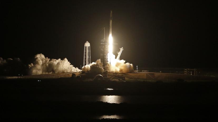 Ракета Falcon 9 с 88 спутниками на борту стартовала во Флориде